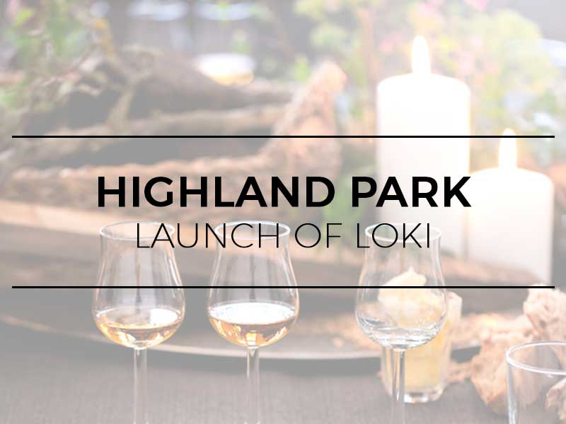Highland Park - Launch of LOKI, a limited edition premium whisky