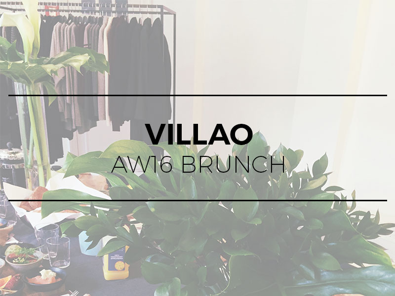 Villao - AW16 press brunch